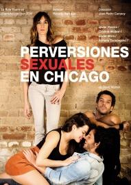 """Cartel de """"Perversiones sexuales en Chicago"""""""