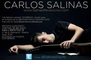 Imagen promocional. Fotografía cedida por Carlos Salinas.
