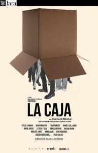 """Cartel de """"La Caja"""""""