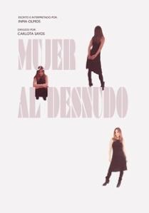 """Cartel  de """"Mujer al desnudo"""""""