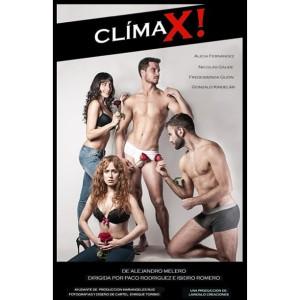 "Cartel de ""Clímax!"""