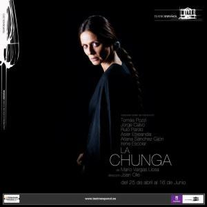 """Cartel de """"La Chunga"""""""