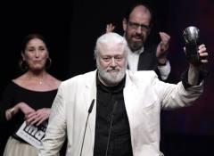 Mario Gas recoge el Max a  la Mejor Dirección de Escena. Imagen: RTVE