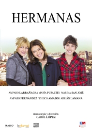 "Cartel de ""Hermanas"""