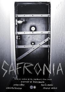 "Cartel de ""Safronia"""
