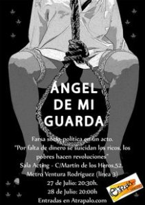 "Cartel de ""Ángel de mi guarda"""