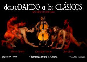 """Cartel de """"Desnudando a los clásicos"""""""