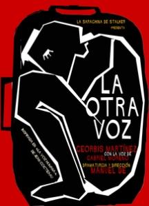 """Cartel de """"La otra voz"""""""