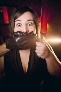 """Inma Cuevas en una imagen promocional de """"No son maneras de tratar a una dama"""""""