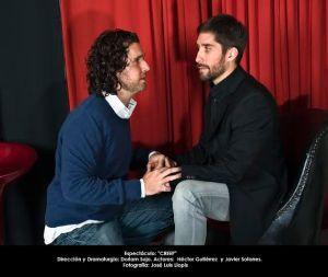 Escenas de la obra de teatro CREEP en El Burdel a Escena