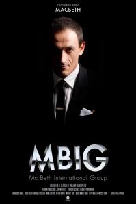 """Francisco Boira en un cartel de """"MBIG"""""""