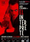 """Cartel de """"El intérprete"""""""
