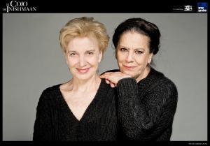 """Marisa Paredes y Terele Pávez en """" El cojo de Inishmaan"""""""