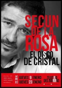"Cartel de ""El disco de cristal"""