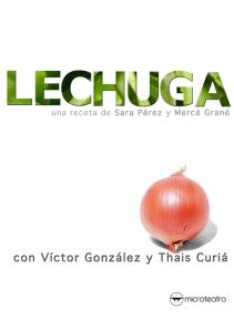 """Cartel de """"Lechuga"""""""