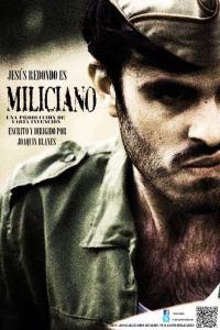 """Cartel de """"Miliciano"""""""
