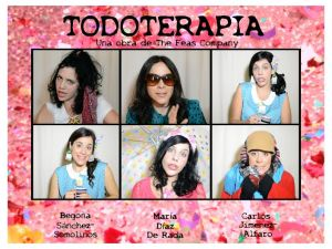 "Cartel de ""Todoterapia"""