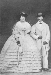 Isabel II y Francisco de Asís