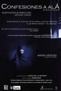 """Cartel de """"Confesiones a Alá"""""""