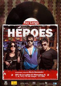 "Cartel de ""Héroes"""