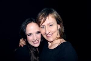 Susana Abaitua y Ione Irazabal