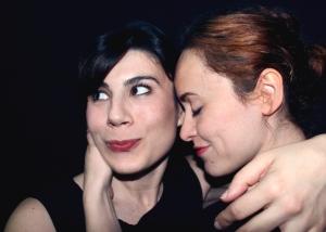 María Herrero y Fredeswinda Gijón