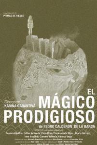 """Cartel de """"El mágico prodigioso"""""""
