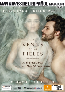 """Cartel de """"La Venus de las Pieles"""""""