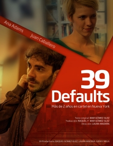 "Cartel de ""39 Defaults"""