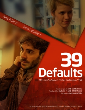 "Cartel de ""39 Defaults"""