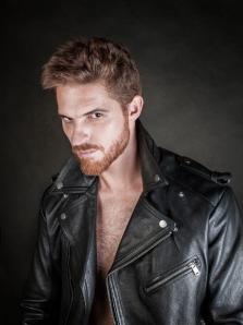"""Jon Rod, actor de """"El hombre del cuarto oscuro"""". Imagen: Enrique Toribio."""