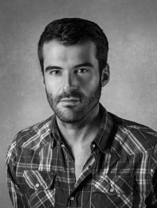 """Isidro Romero, director de """"El hombre del cuarto oscuro"""". Imagen: Enrique Toribio."""