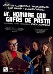 cartel un hombre con gafas de pasta