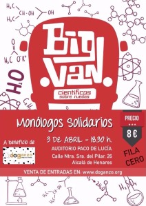 Monologos solidarios Big Van